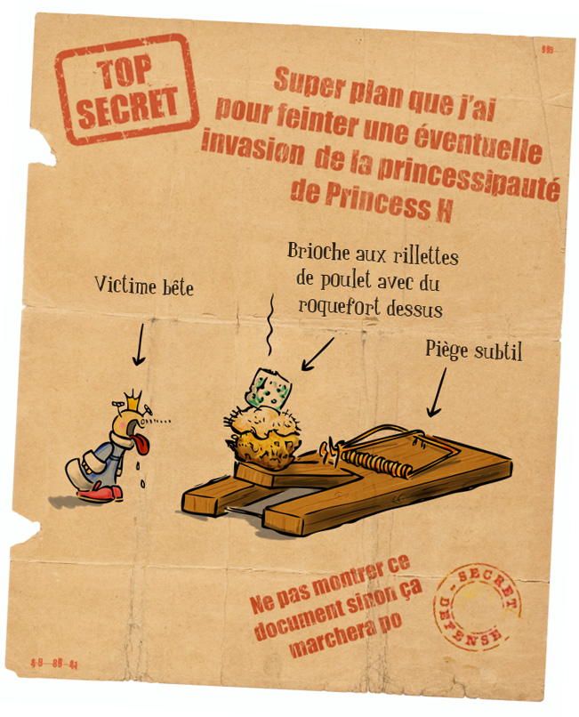 Guerre contre Princess H